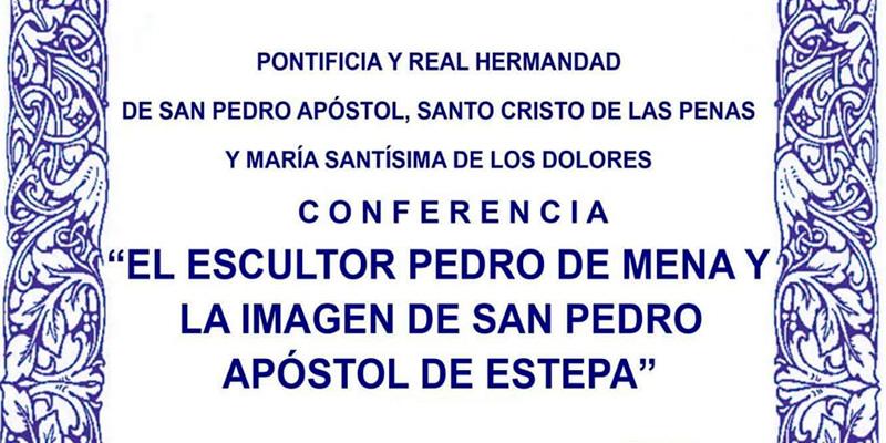 Conferencia: El escultor Pedro de Mena y la imagen de San Pedro